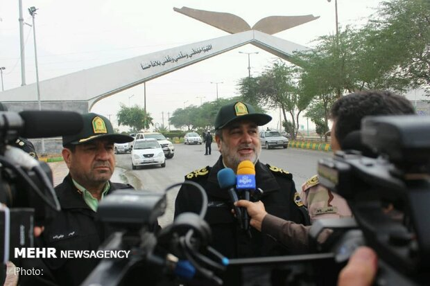 Iran police commander says identification and arrest of rioters will continue