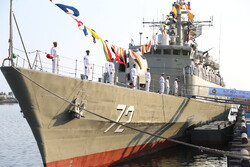 Iran's 71th naval flotilla dispatched to Intl. waters