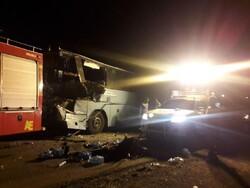 علت واژگونی اتوبوس در جاده فیروزکوه اعلام شد