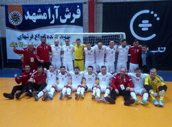 Belarus wins title of futsal tournament in Mashhad