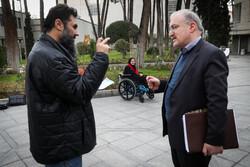 ایرانی کابینہ کے بعض اراکین کی صحافیوں سے گفتگو
