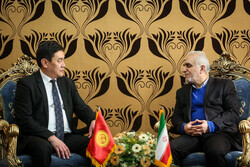 Iranian, Kyrgyz finance ministers meet in Tehran