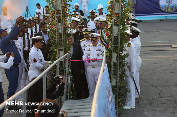 New vessels join Iranian navy