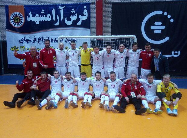 Belarus wins title of futsal tournament in Mashhad