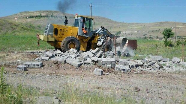 جلوگیری از ۵۸۶ مورد ساخت و ساز غیرمجاز در  استان اردبیل