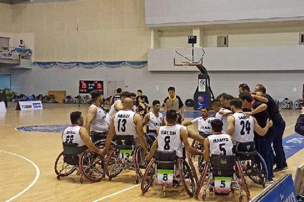 سومین برد تیم ملی بسکتبال با ویلچر ایران برابر کرهجنوبی رقم خورد
