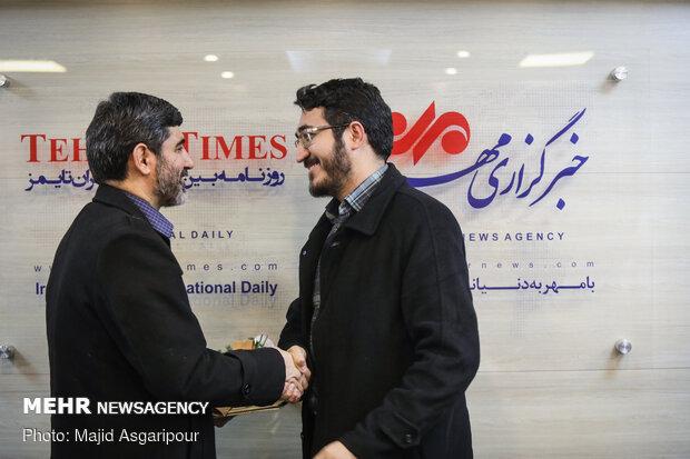 مراسم تودیع و معارفه معاونت خبر خبرگزاری مهر