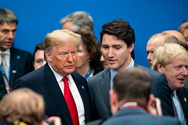 ترامپ به تمسخر نخست وزیر کانادا واکنش نشان داد