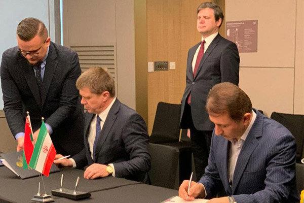 موافقتنامه توسعه تجارت ایران و بلاروس امضا شد