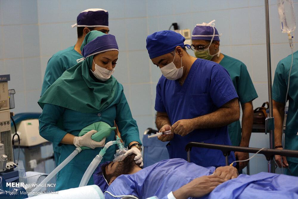 عمل جراحی ستون فقرات کشتیگیر تیم ملی