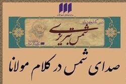 درسگفتارهای «صدای شمس در کلام مولانا» برگزار می شود