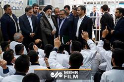 ایرانی عدلیہ کے سربراہ کا اصفہان کی مرکزی جیل کا دورہ