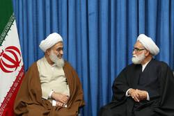 نماینده ولی فقیه در جمعیت هلال احمر با امام جمعه قزوین دیدار کرد