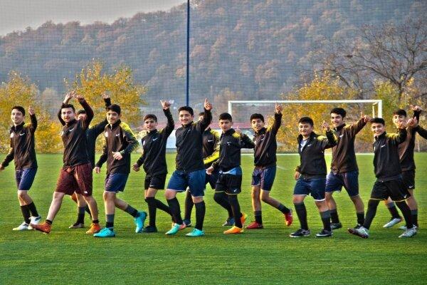 برگزاری اردوی تیم فوتبال «ایرانیان اردبیل» در جمهوری آذربایجان