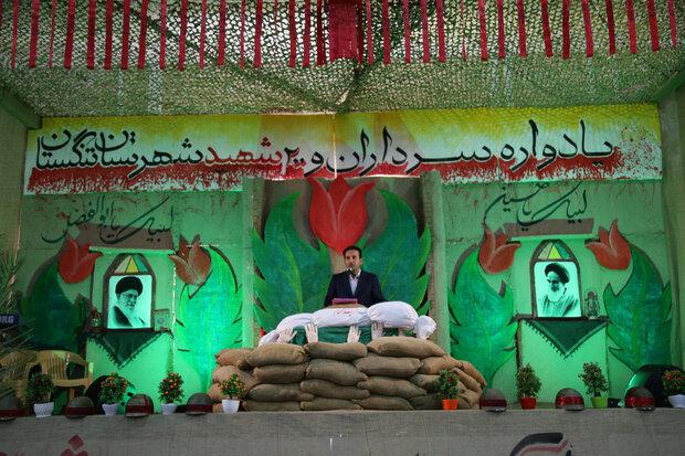 یادواره سرداران و  ۲۰۰ شهید شهرستان تنگستان برگزار شد