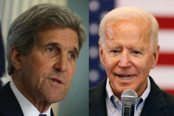 اعلام حمایت«جان کری» از نامزدی «جو بایدن» در انتخابات ۲۰۲۰ آمریکا