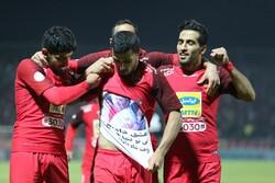 دیدار تیم های فوتبال ذوبآهن اصفهان و پرسپولیس