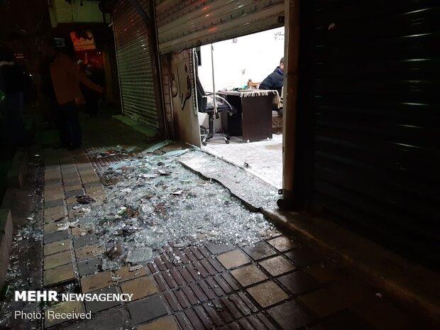 حمله اشرار مسلح به قهوهخانه خیابان خاتم الانبیا
