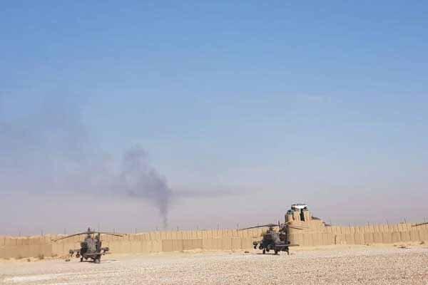 حمله به پایگاه غیرقانونی آمریکا در شمال شرق دیرالزور