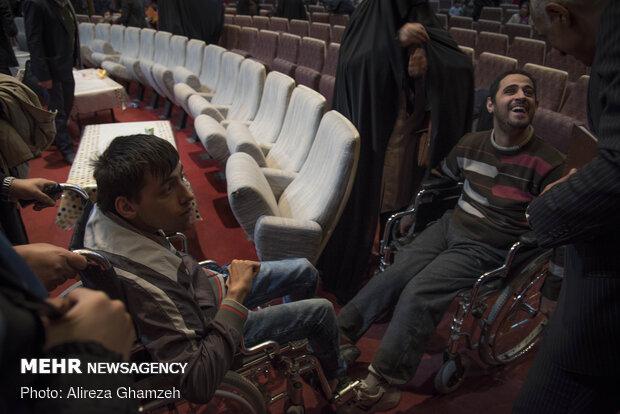 """احتفال الاسبوع """"المعوقين"""" في ايران"""
