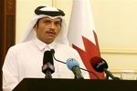 قطر کے وزیر خارجہ سعودی عرب پہنچ گئے