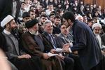 ایرانی عدلیہ کے سربراہ کا تہران یونیورسٹی میں حضور