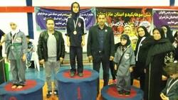 «مازندران» قهرمان مسابقات شین موهاپکیدو بانوان کشور شد