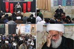 مراسم عزاداری شهادت حضرت معصومه (س) در بوشهر برگزار شد