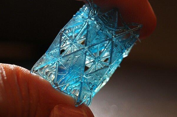 چاپ سه بعدی مصالح ساختمانی با الهام از استخوان!