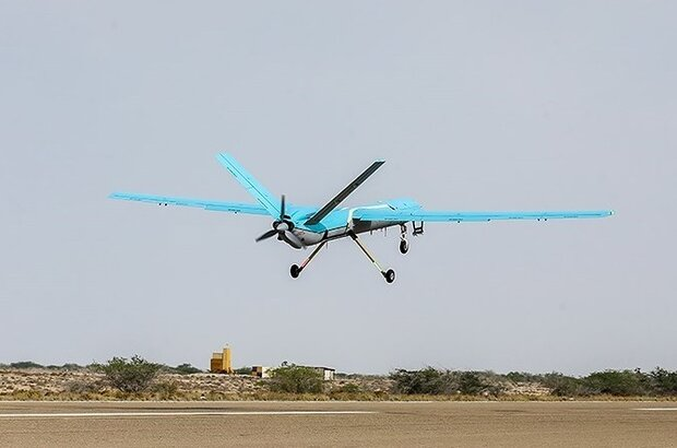 VIDEO: Navy's Simorgh drone conducts test flight