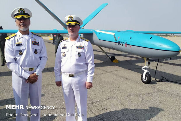 Simorgh drone joining Iran's Navy