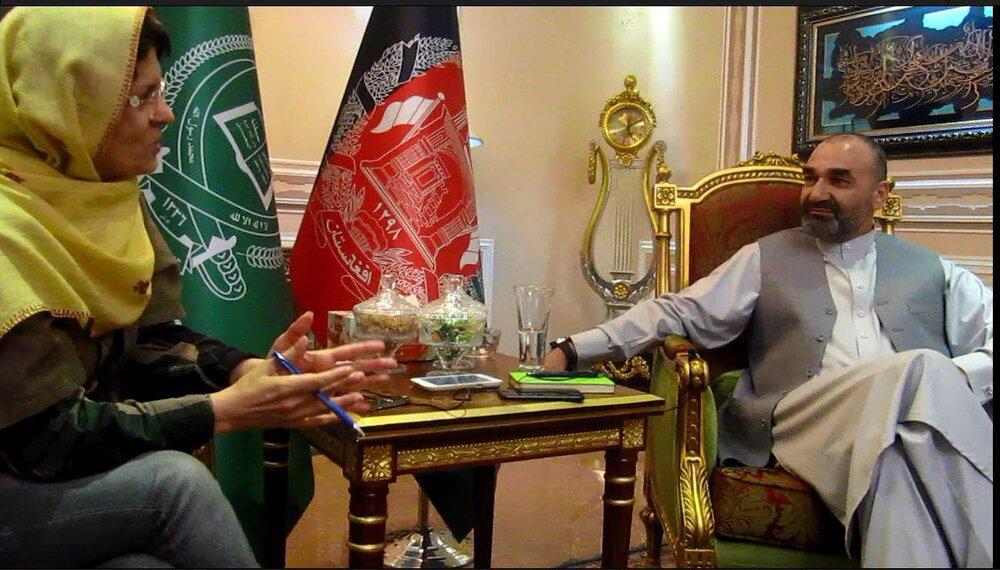 فرمانده مسعود در گفتوگو با ژیلا بنییعقوب