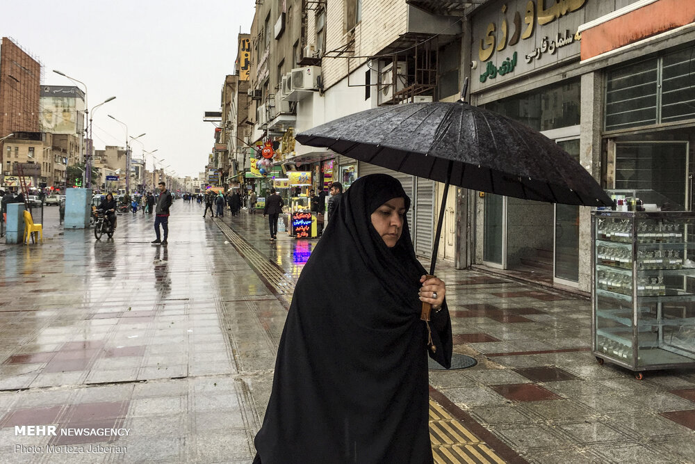 بارندگی و آبگرفتگی معابر اهواز