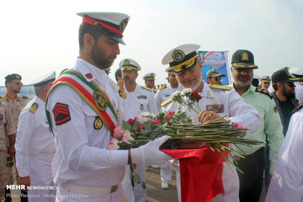 الحاق پهپاد سیمرغ به نیروی دریایی ارتش