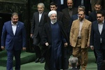 Rouhani in the Parliament to submit next year's budget bill