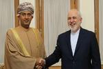 ظريف يبحث مع وزير التجارة العماني سبل توطيد العلاقات المشتركة بين البلدين