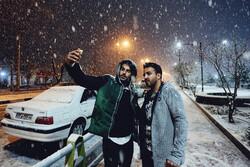 Hemedan'da kar sürprizi!
