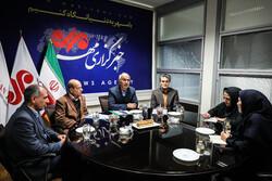 رئيس منظمة شؤون طلبة الجامعات يحلّ ضيفاً على وكالة مهر للأنباء/صور