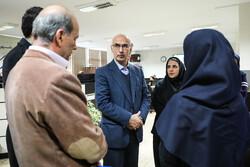 رئیس سازمان امور دانشجویان از خبرگزاری مهر بازدید کرد