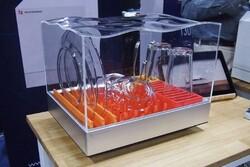 ماشین ظرفشویی که آب کم مصرف می کند