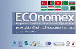 A poster for the Symposium of ECO Tourism Investment Opportunities