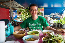 Food and travel vlogger Mark Wiens in an undated photo