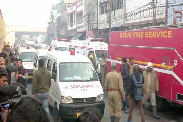 آتش سوزی در هند ۴۳ کشته برجای گذاشت