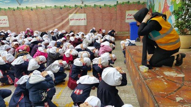 برگزاری 2 هزار نفر ساعت آموزش مدیریت بحران در منطقه 13