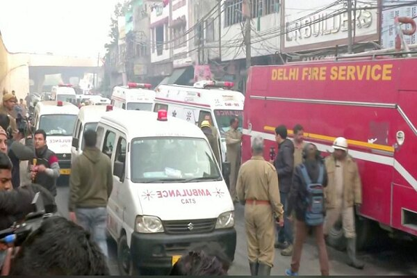 VIDEO: At least 43 dead in fire at New Delhi factory