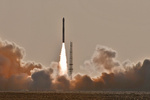 چین ۶ ماهواره را با یک راکت به فضا فرستاد