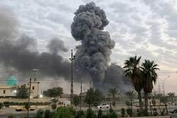 صواريخ مجهولة تستهدف قاعدة عسكرية تابعة لامريكا في العراق