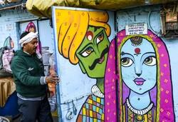 تزيين الأروقة على الطريقة الهندية /صور