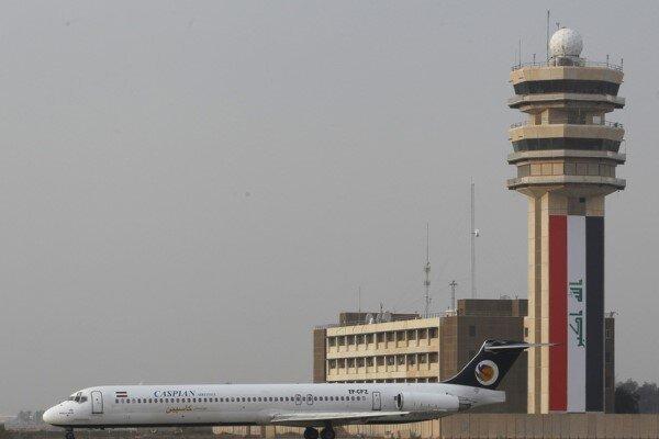 Bağdat Havalimanı'na roketli saldırı