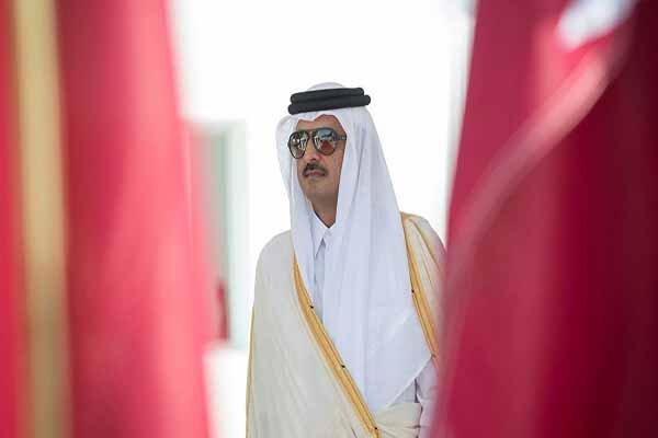 سفر خارجی امیر قطر یکروز مانده به نشست ریاض